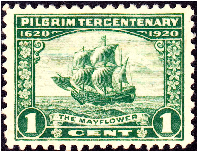 puritanerne og mayflower
