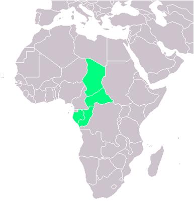 tidligere spanske kolonier