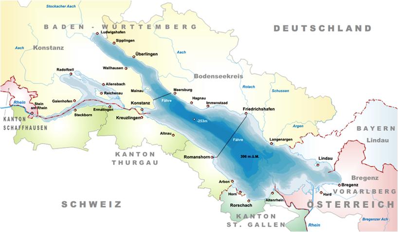 største innsjø europa