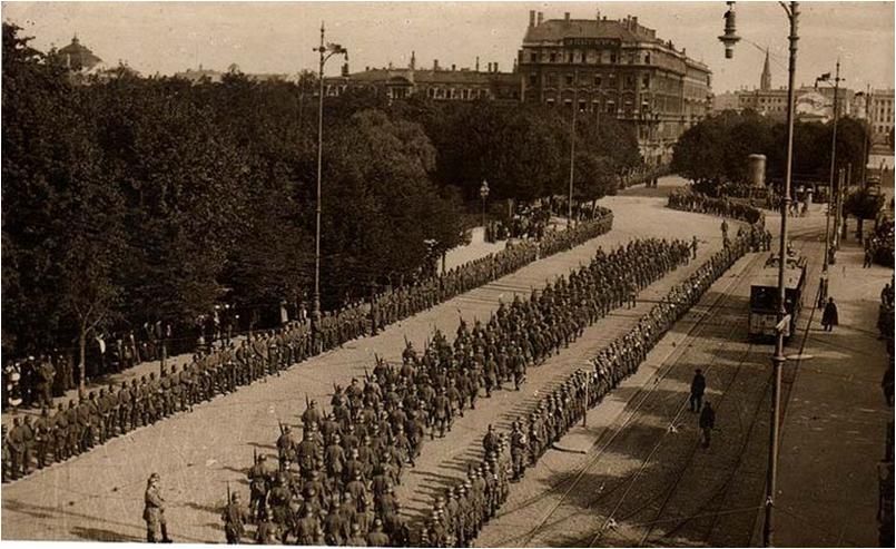 slutten av 1 verdenskrig tyskland