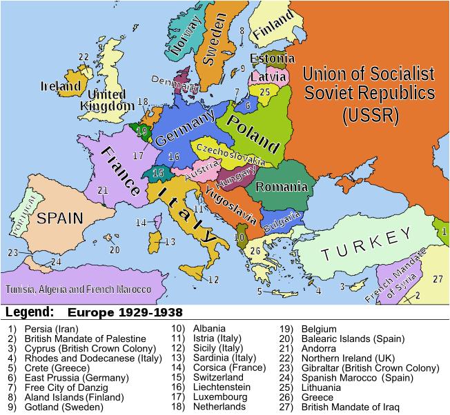 kart over europa etter første verdenskrig Europa   HHist.e kart over europa etter første verdenskrig