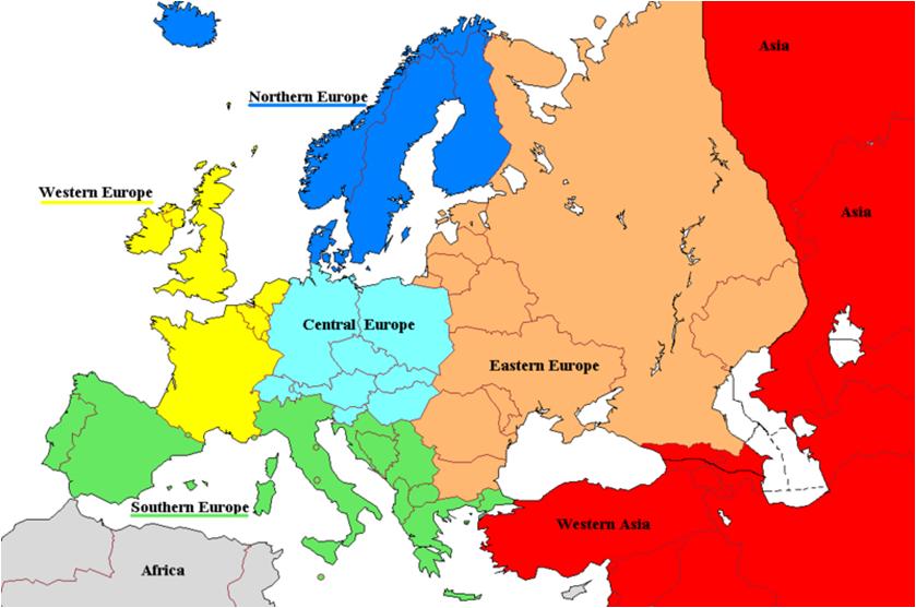 europa og asia kart Europa   Eu.a europa og asia kart