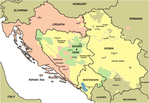 jugoslavia kart Europa   Hellas,Ungarn,Balkan jugoslavia kart