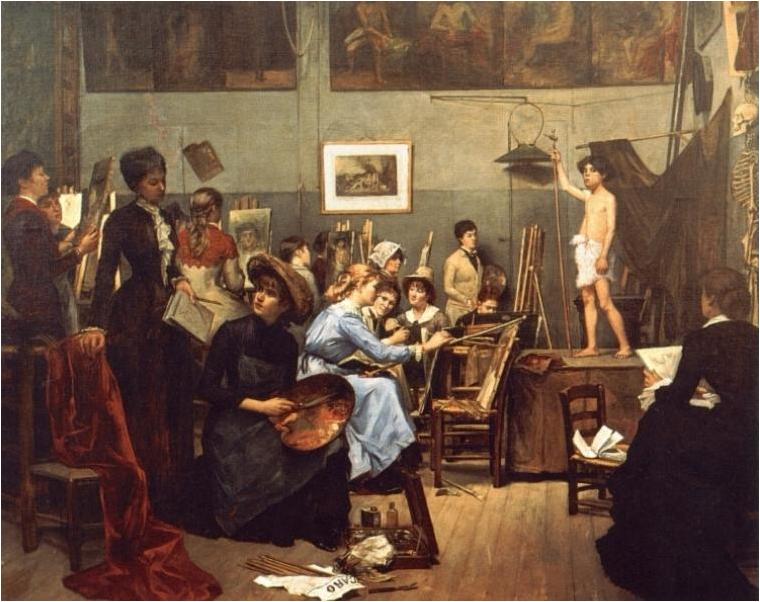 Opplysningstiden kunst