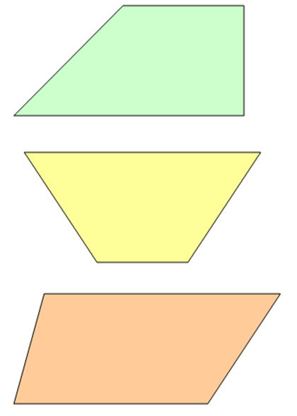 Geometriske Former Med Navn