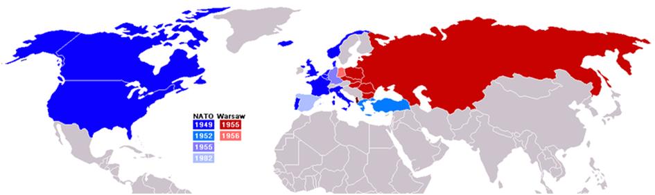 Nato og warszawapakten